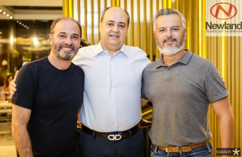 Marcos Novais, Izauro Fontenele e Eugenio Mendonça