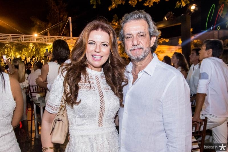 Claudia Quental e Ernesto Saboia