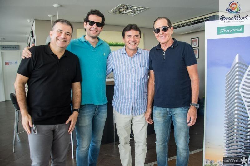 Ricardo Bezerra, Joao Fiuza, Luiz Teixeira e Joao Fiuza