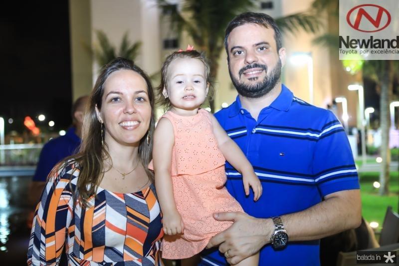 Silvia, Beatriz e Eduardo Guimaraes