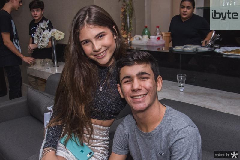 Cecilia Fiuza e Vitor Cavalete