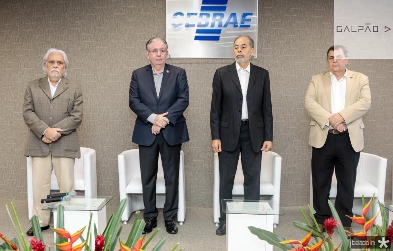 Joaquim Cartaxo, Ricardo Cavalcante, Inacio Arruda e Paulo Cesar Resende