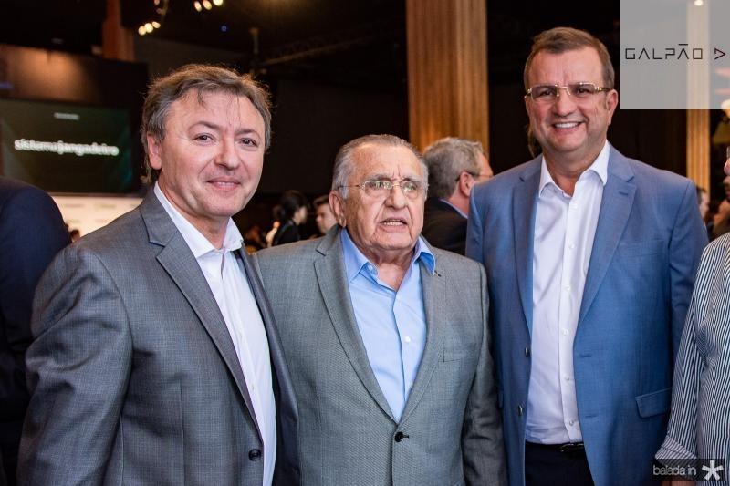 Mauricio Filizola, Joao Carlos Paes Mendonca e Jersson Lucena