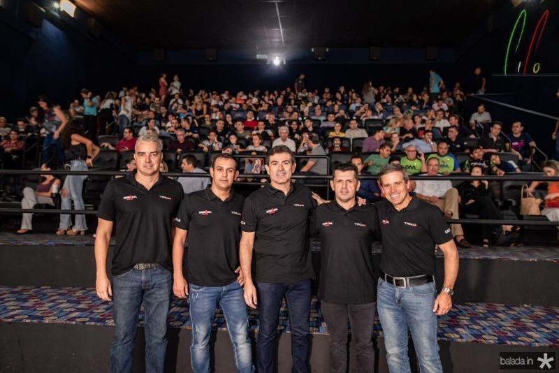 Kal Aragao, Alexandre Pereira, Erick Vasconcelos e Carlos Galvao