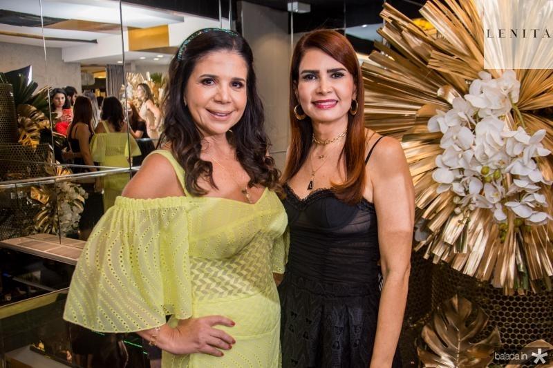 Maria Lucia Negrao e Lorena Pouchain