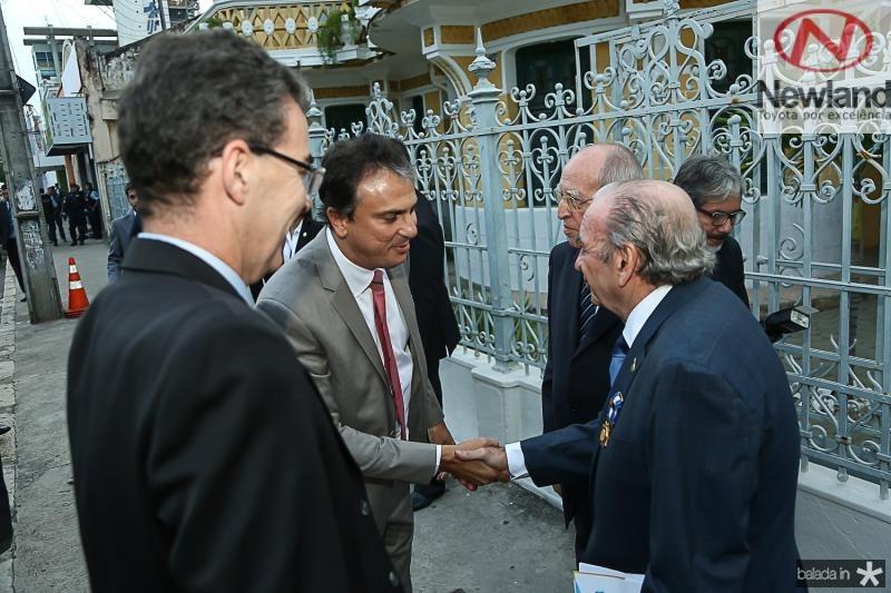 Geraldo Luciano, Camilo Santana, Lucio Alcantara e Ednilo Soares