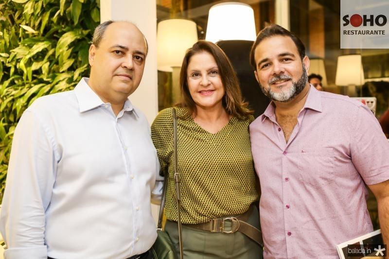 Izauro Fontene, Celina Fiuza e Thiago Borges