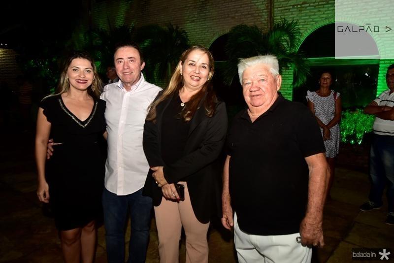 Diana Queiroz, Darlan Leite, Helena Cordeiro, Ze Costa