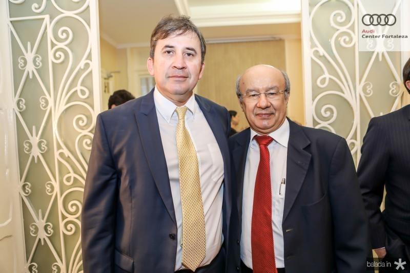 Regis Botelho e Jose Pimentel