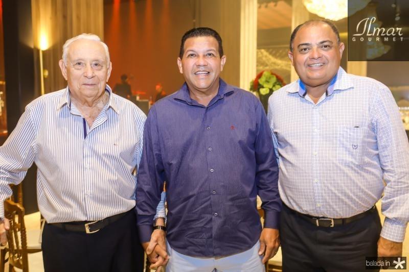 Adauto Bezerra, Raimundo e Teodoro Santos