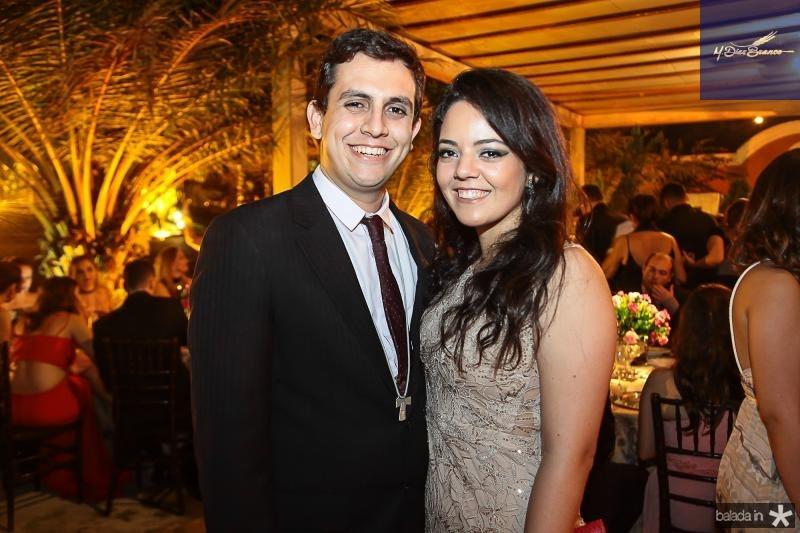 Marco Nobre e Bianca Torres de Melo