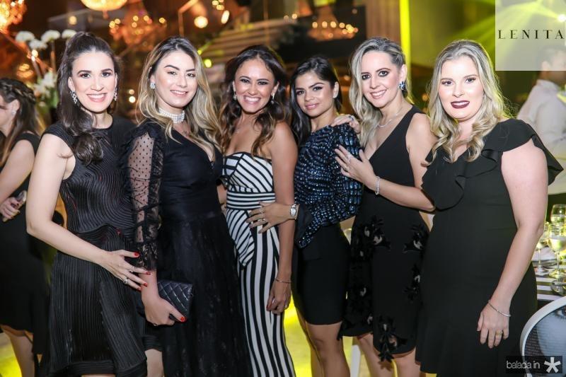 Giuliana Botelho, Mariana Pimenta, Bia Bezerra, Isabele Timoteo, Aline Amorim e Adriana Brasil