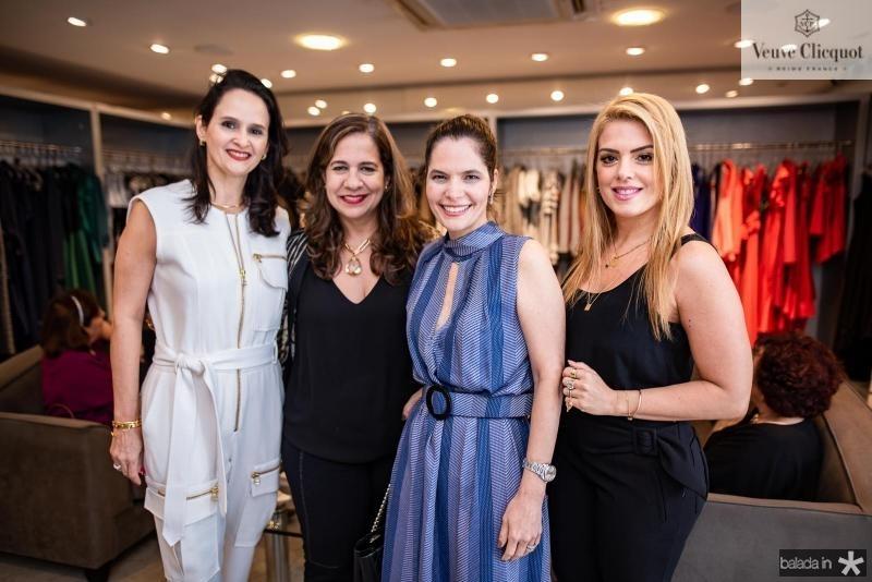 Adriana Miranda, Martinha Assuncao, Cristiana Carneiro e Leticia Studart