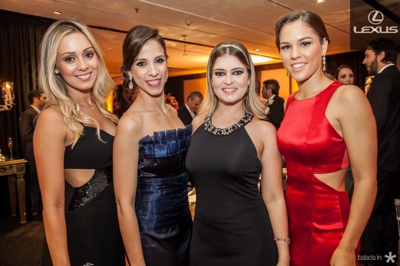 Mariane Morais, Natercia Saboia, Claudia Brasil e Daniele Eloy