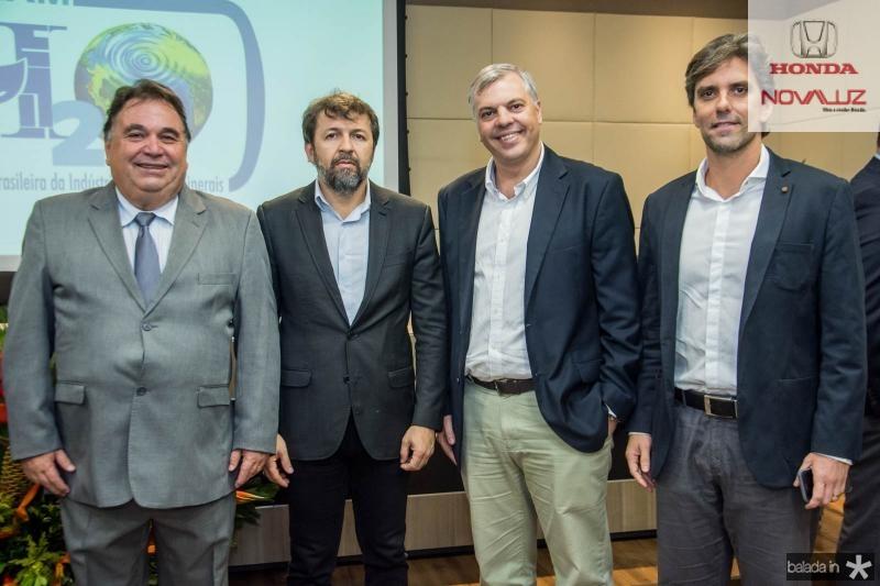 Carlos Alberto Lancia, Elcio Batista, Lucas Ferianci e Ruy do Ceara