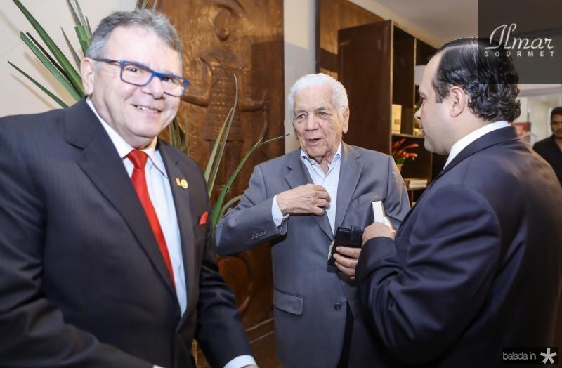 Juarez Leitao, Jose Torres de Melo e Igor Barroso