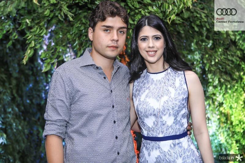 Igor Linhares e Lorena Aragão