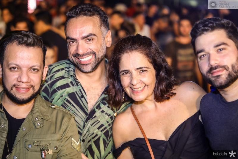 Roberto Alves, Padua Lopes, Giana Studart e Marco Abreu