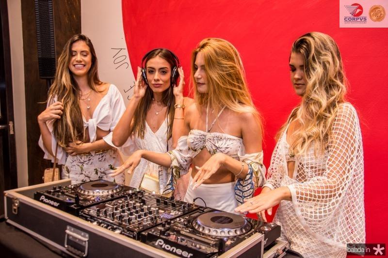 Sana Leticia, Alexia Marina, Joyce Porto e Fernanda Vidal