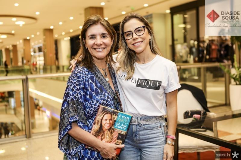 Tania Vasconcelos e Mirella Rocha