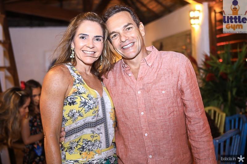 Rafaela e Jose Pinto Filho