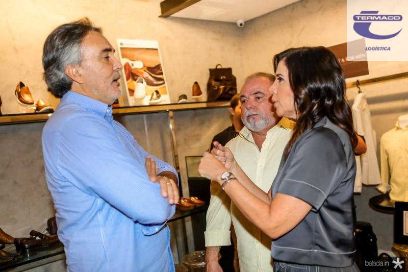 Paulo Mindelo, Pedro Carapeba e Maria Lucia Negrao