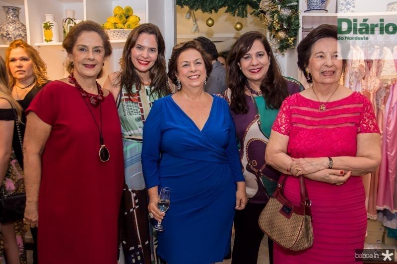 Tida Leal, Cristiana Carvalho, Julia Gurjão, Martinha Assuncao e Zuleide Menezes