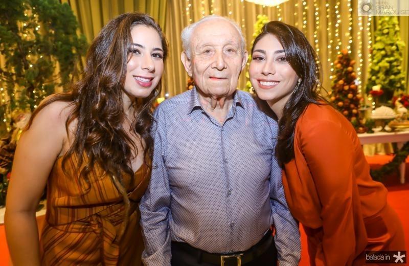 Beatriz, Humberto e Mila Bezerra