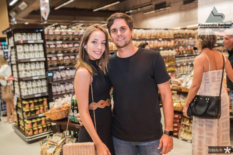 Giovanna Bezerra e Luiz Fernando Ramalho