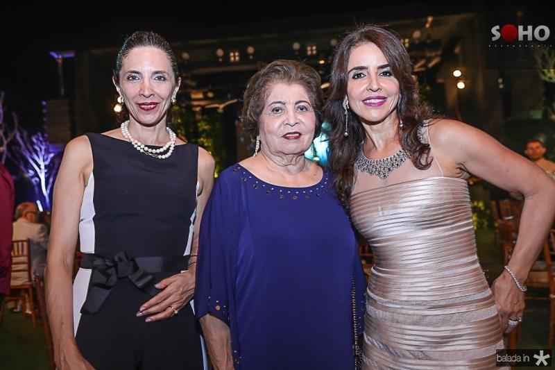 Clara Bezerra, Edyr e Denise Rolim