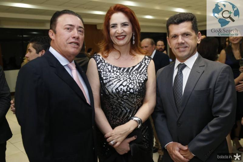 Darlan Leite, Enid Camara e Erick Vasconcelos