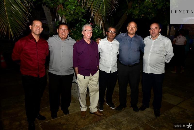 Junior, Alexandre Gama, Hernane Silva, Lusiario Batalha, Dimas Ribeiro, Coronel Macedo