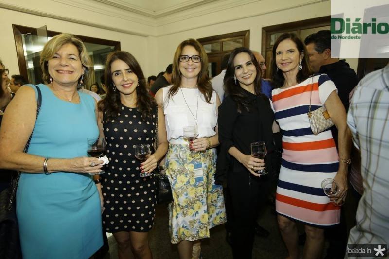 Stella e Denise Rolim, Marcia Andrea, Sandra Rolim e Cristine Basto