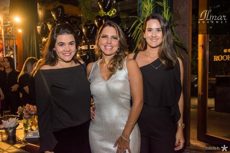 Priscila Leal, Ana Carolina Fontenele e Marina Ary