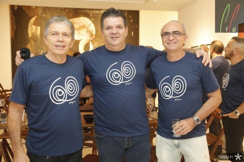 Luiz Regis Bonfim, Vicar Pessoa e Fernando Barreira