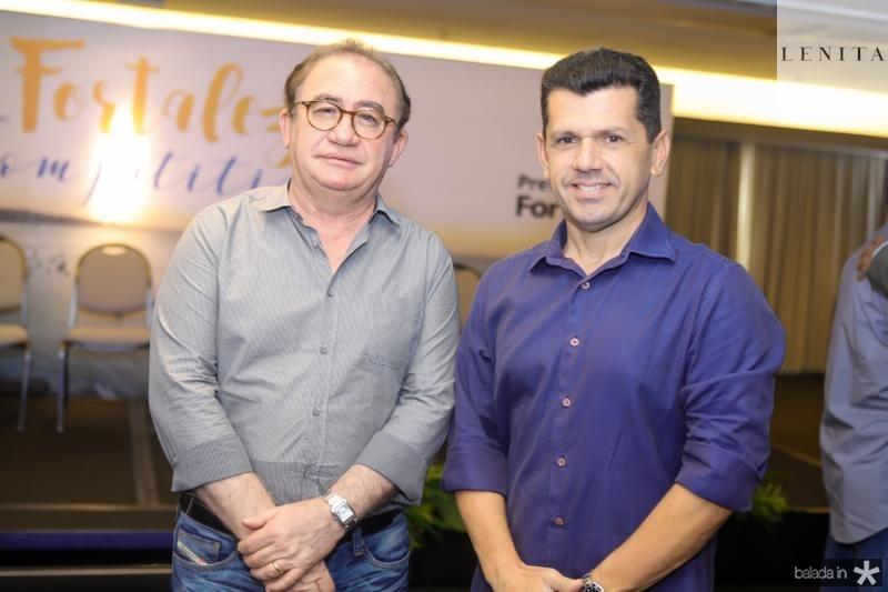 Manoel Linhares e Erick Vasconcelos