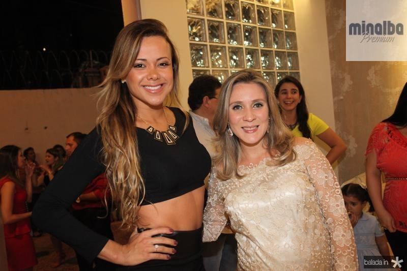 Cibelle Vieira e Olga Saraiva