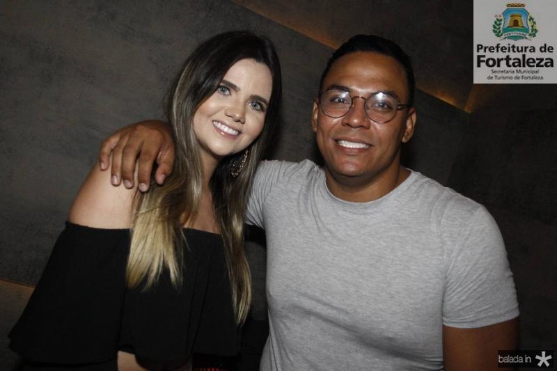 Tatiana Palhares e Paulo Ricardo