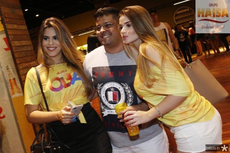 Leticia Nogueira, Igor Colasso e Amanda Peixoto