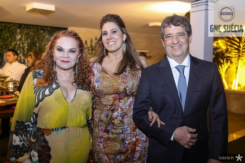 Lisieux Brasileiro, Mercia Cristian e Joaquim Almeida