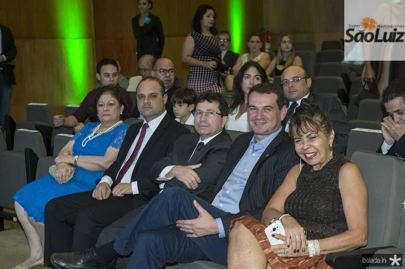 Aurideia e Daniel Fiuza, Alcir Porto, Josbertine Clementino e Elma Cabral