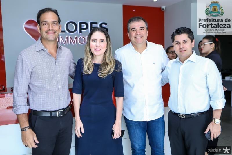 Deda Studart, Agueda Muniz, Ricardo Bezerra e Pompeu Vasconcelos
