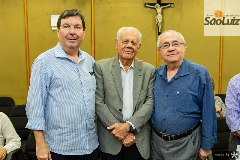 Heitor Studart, Flavio Saboia e Eduardo Bezerra
