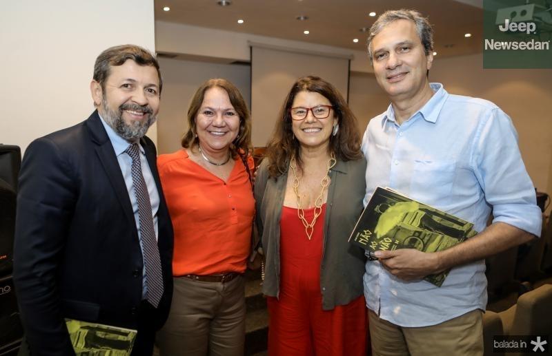 Elcio Batista, Selene Penaforte, Ana Soter e Tiago Santana