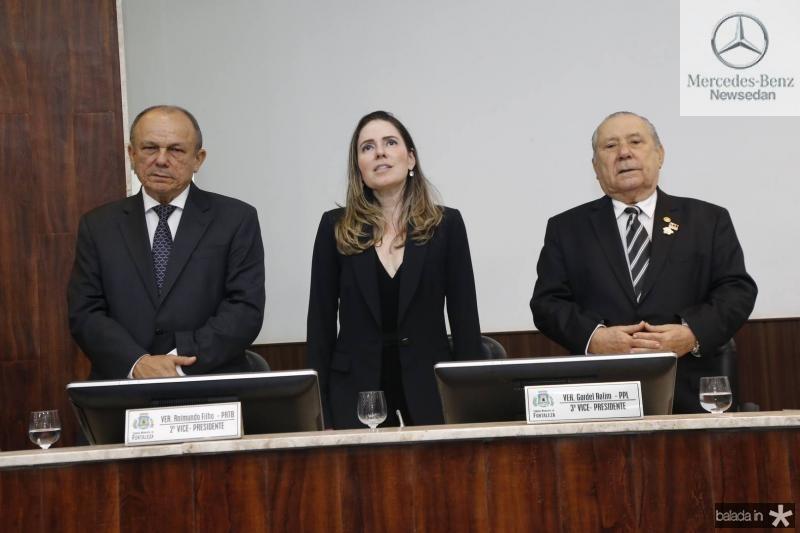 Honorio Pinheiro, Agueda Muniz e Idalmir Feitosa 2