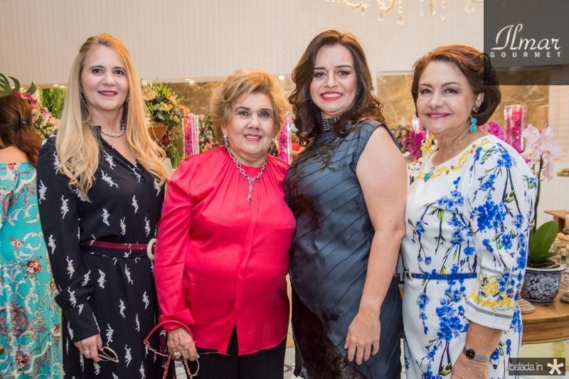 Morgana Dias Branco, Consuelo Dias Branco, Lia Freire e Barbara Freire