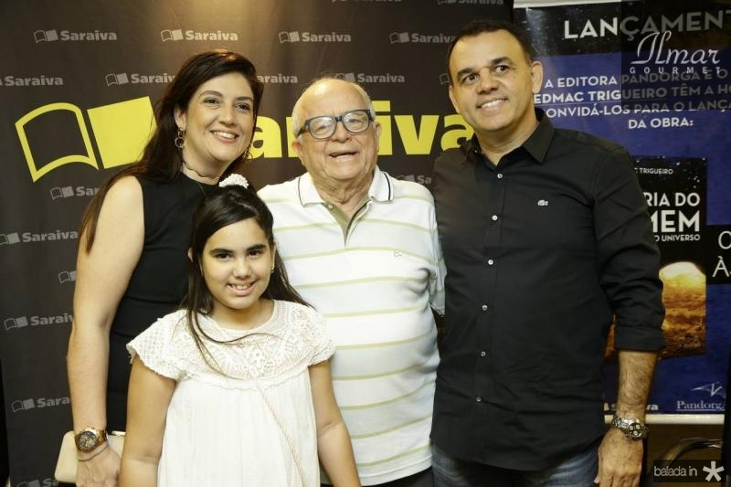 Lana e Giovana Trigueiro, Mirson Lima e Edmac Trigueiro