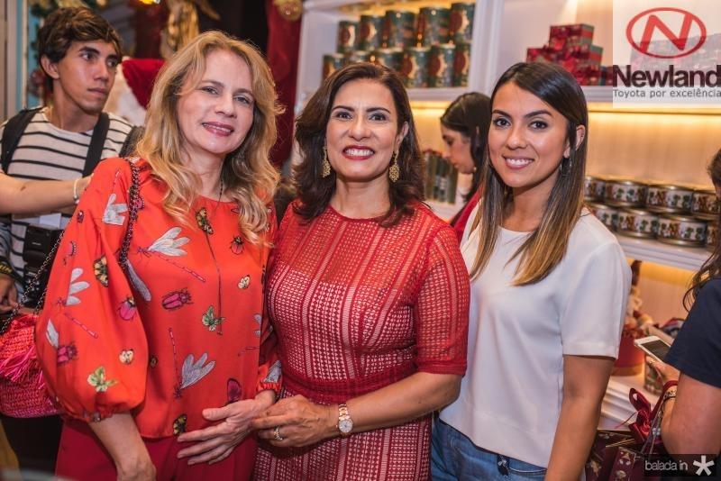 Tereza Uchoa, Marcia Teixeira e Flavia Uchoa