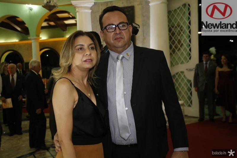 Mauricelia Freitas e Telmo Sindeaux