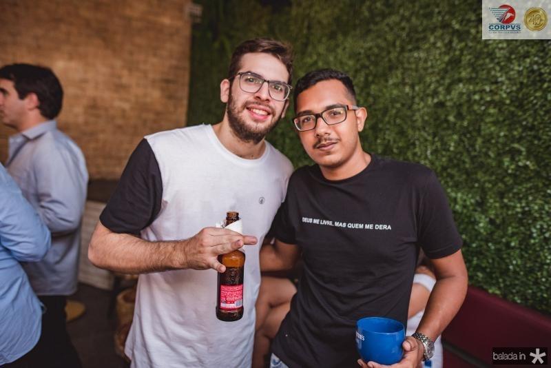 Marcelo Oliveira e Lucas Lima